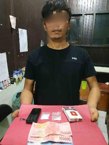 Cukong Narkoba lintas Kabupaten Di Riangkus Satnarkoba Polres Inhu