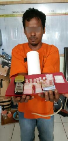 Warga Airmolek Jual Narkoba Diamankan Polisi
