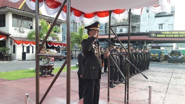 Kapolres Inhil Jadi Irup Peringatan HUT RI ke-71