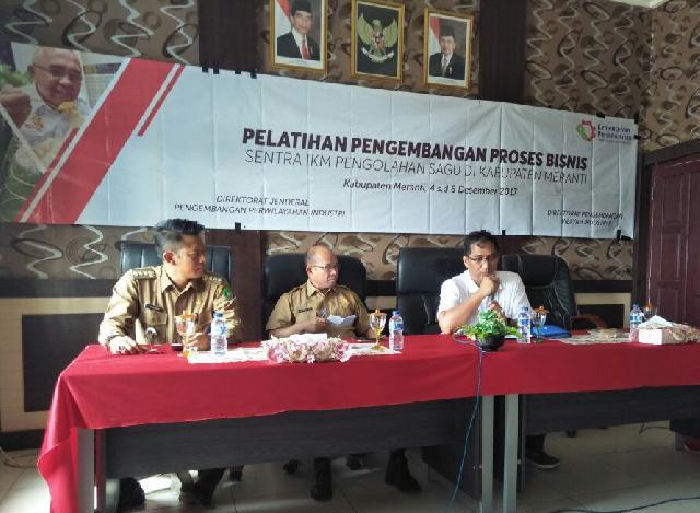 30 Pelaku IKM Kabupaten Meranti Dapat Pelatihan