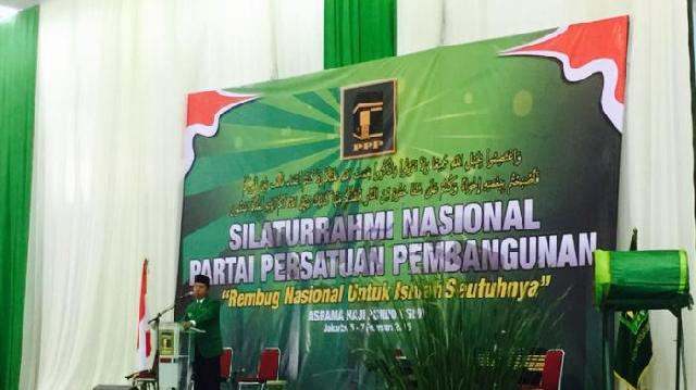 Silatnas PPP Putuskan Penyelenggaraan Muktamar Paling Telat April 2016