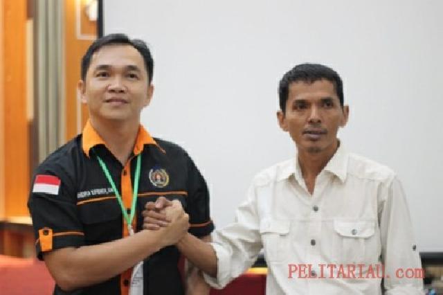 M Yusuf Jadi Ketua PWI Inhil Lagi Priode 2019-2022, 'Semua Wartawan Satu Keluarga'