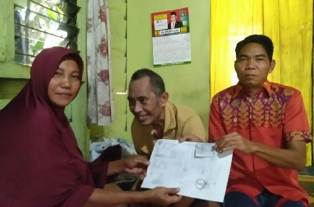 Sudah 5 Tahun Sakit, Sahabat Mafirion Bantu Fasilitasi Pebuatkan BPJS Kesehatan Rifai Ujang