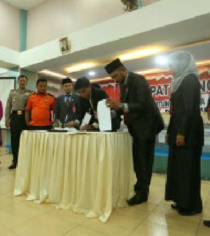 Pasangan ProBisa Menang Dalam Hasil Rekapitulasi Rapat Pleno di KPU Meranti