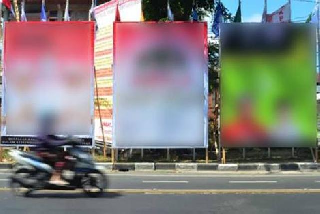 Bawaslu Riau Minta Alat Sosialisasi Parpol dan Bacaleg Ditertibkan