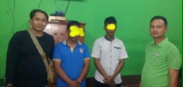 Mantap, Kasat Reskrim Polres Pelalawan Berhasil Ringkus Dua Orang DPO Polresta Pekanbaru