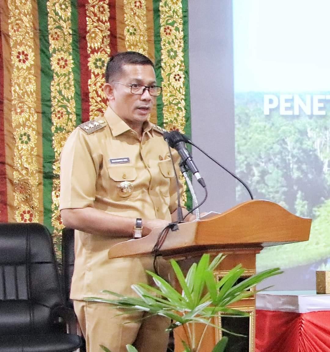 Bupati Meranti Kecewa Terhadap Kinerja Tim Gugus Tugas Provinsi Riau Terkait Kosongnya Stock Vaksin