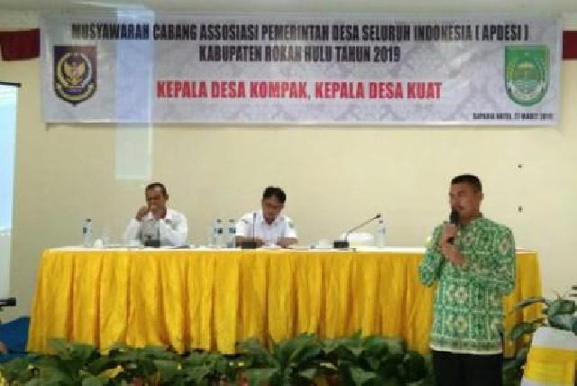 Raih 70 Persen Suara, Ketua APDESI Terpilih Anto Sontang Janji Perjuangkan Hak Kades