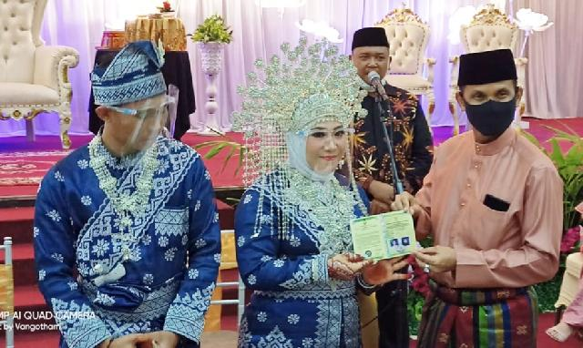 Pernikahan Anak Ketua JMSI Riau; Gubernur Ingatkan Bahaya Covid