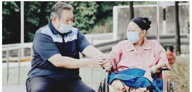 Setahun Kepergian Isteri Tercinta, Inilah Curhatan Hati Susilo Bambang Yudhoyono
