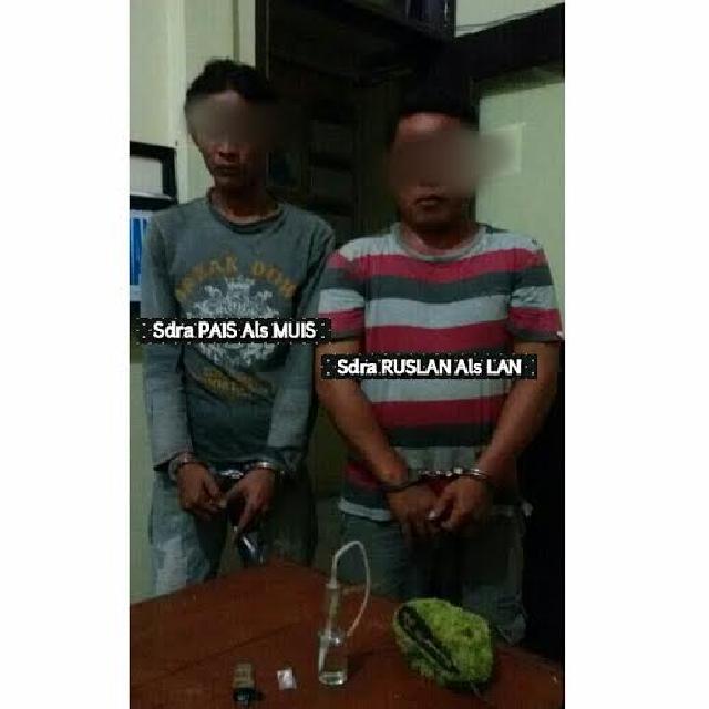 Dua Tersangka Narkotika Ditangkap Polisi Inhu, Satu Masih DPO