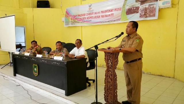 Bupati Ikuti Semiloka Komunitas Adat Terpencil Provinsi Riau, Gesa Peningkatan Kesejehtaraan Masyara