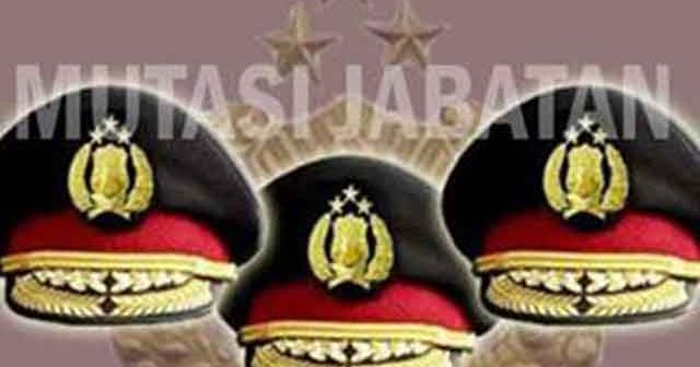 Sejumlah Pejabat Polda Riau Dimutasi