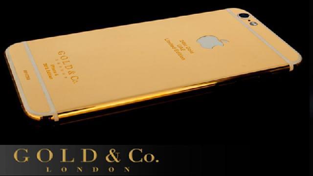Mantap iPhone 6S Berlapis Emas Dibanderol Rp129 Jutaan