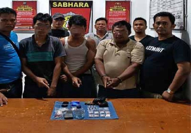 10 Tersangka Narkoba di Inhu Tertangkap Dalam 6 Jam, Polisi Lakukan Pengembangan