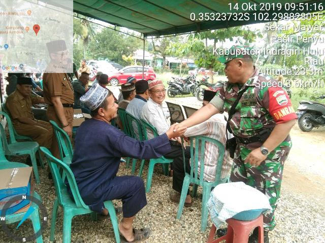 Kapten Inf HB Sitepu Intruksikan Anggota Taqziah Kerumah Almarhum Aiptu Pol H Dwiyono