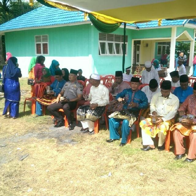 Gedung LPTQ Desa Alai di Resmikan di Momen MTQ Ke- 10 Kecamatan Tebing Tinggi Barat