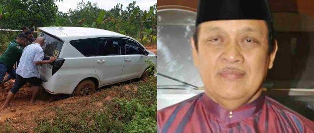 Kerusakan Akses Jalan di Kab Inhu Sangat Memprihatinkan , Ini Kata Alumni Universitas Riau