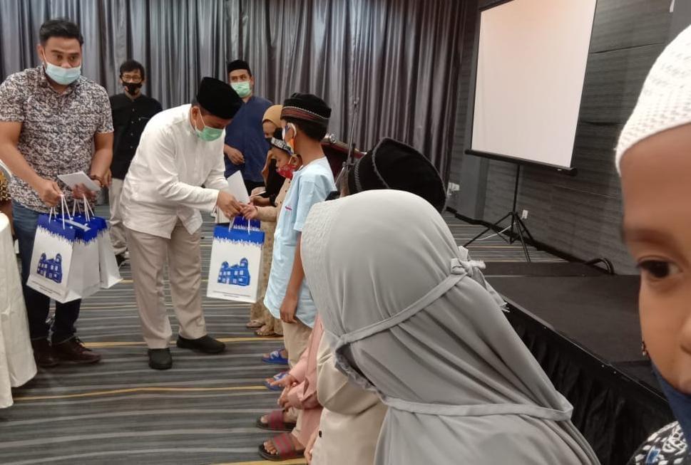 JMSI Dan Bank Indonesia KpW Aceh Satuni, Anak Yatim Keluarga Wartawan