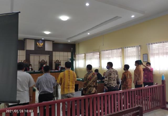 Sekda Hendrizal Jadi Saksi, Terdakwa Riswidiantoro Ajak Kades Bisik Bisik Menangkan Rajut Saat Penyaluran BLT DD