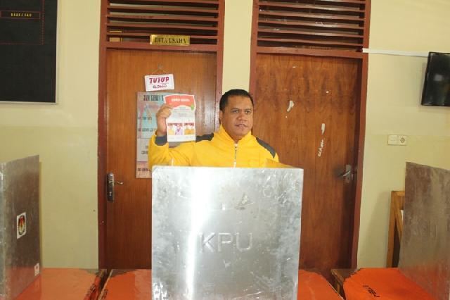 Semantara Yopi-Khairizal Unggul Dengan 57,79 Persen Suara TM-Amin 42,21 Persen