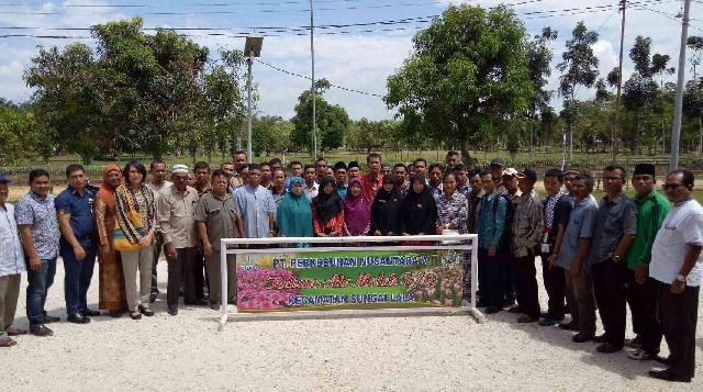 PTPN5 Salurkan CSR Melalui Program PKBL Kepada Sarana Pendidikan Dan Rumah Ibadah se Kab Inhu