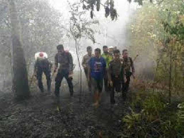 Karhutla Kuansing Muncul Di Lahan 20 Hektar