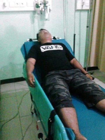 Alahmak Gara- Gara Puntung Rokok Sped Boat Ambulance Laut Nyaris Terbakar