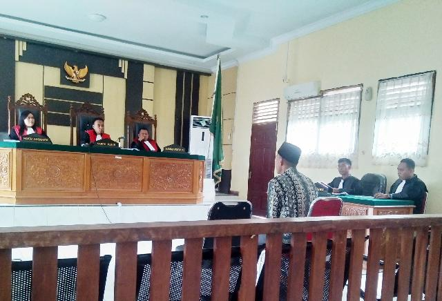 Majelis Hakim Vonis Dimas 36 Bulan Penjara Denda Rp200 Juta, Sidang Money Politik Pilgubri