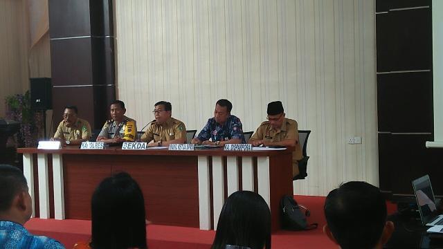 Pimpinan DPRD, Muzamil Hadiri Rapat Persiapan Finalisasi Imlek 2018 Tinggalkan Kesan Yang Baik