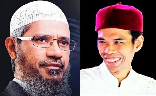 Antara Ustad Abdul Somad dan Ustad Abdul Zakir Naik