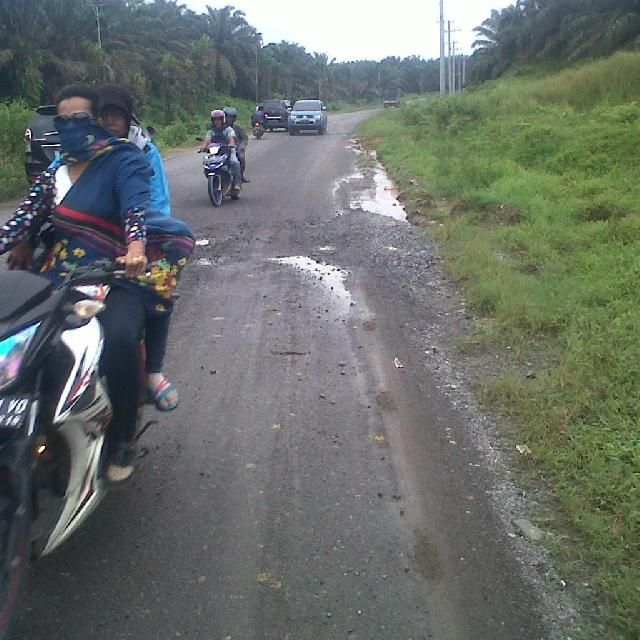Jalan Japura Air Molek Diusulkan 5 Kilo Disetujui 2 Kilo