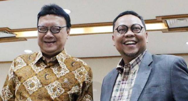 Mendagri Tjahjo Kumolo Apresiasi Pemaparan Visi Misi LE-Hardianto saat Debat Publik Pilgub Riau 2018