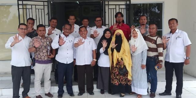 DPC LAN Meranti Silaturahmi ke Dinas Pendidikan