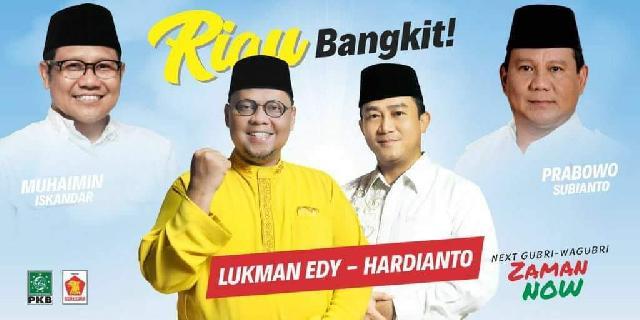 Riset Vox LVPS Populi: Lukman Edy-Hardianto Menang Pilgub Riau