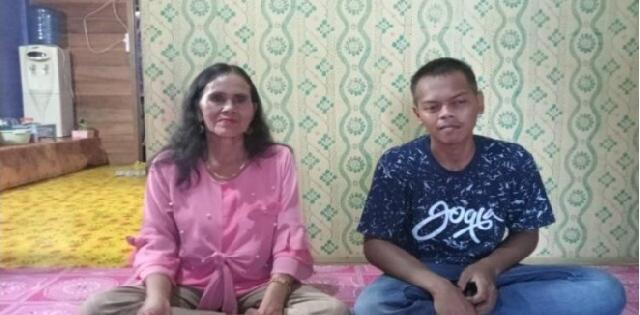 Pernikahan Beda Usia, Nenek Luna Maya dan Rizky Menjadi Viral di Buntok