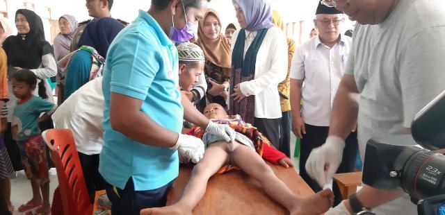 Ini Tanggapan Warga Batang Cenaku Digelarnya Sunat Massal Oleh Pemkab Inhu