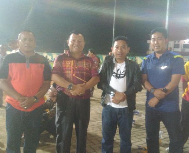 Liga Santri Nusantara Seprovinsi Riau, Kasat Binmas Polres Inhu Ajak Masyarakat  Junjung Sportivitas