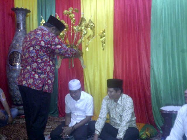 Jelang Keberangkatan CJH, Pimpinan DPRD Rohil Gelar Syukuran