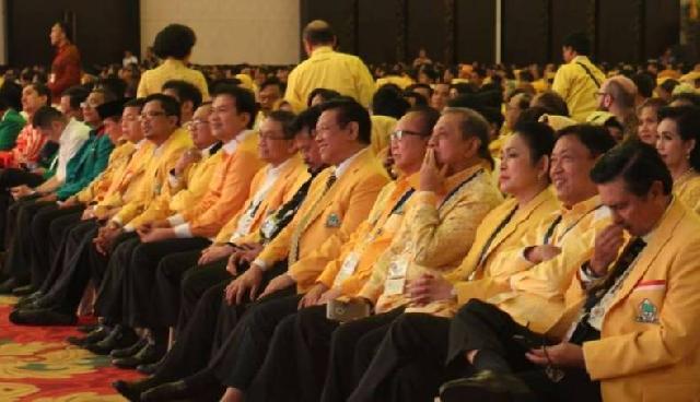 Ditandai Pukul Gong, Jokowi Resmi Buka Munaslub Golkar