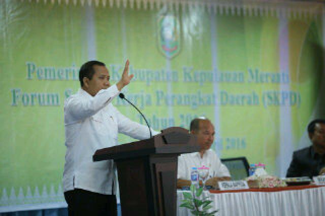 Pemkab Meranti selenggarakan Forum SKPD Tahun 2016