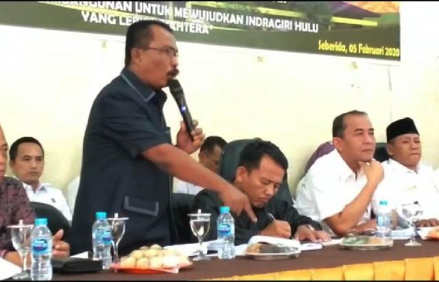 Keluarkan Suara Keras, Melihat Perjuangan Martimbang Simbolon Membangun Kecamatan Batang Gansal