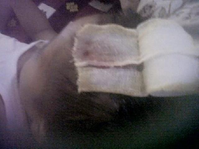 Ini di Inhu, Guru Ambil Sampingan Nukang Disekolah, Kepala Siswa Bocor Ditimpa Balok 5:7