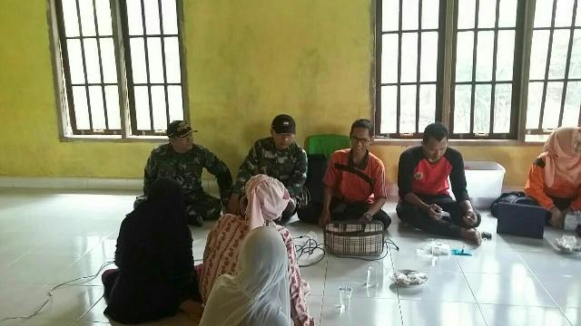 Sertu Herius Adakan Sosialisasi Dengan Masyarakat Banjar Nantigo