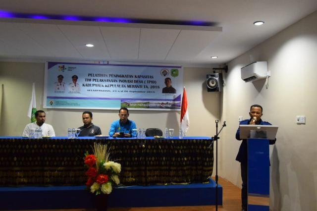Ketua Komisi 1 Hadiri Pembukaan Pelatihan Peningkatan Kapasitas TPID 2018