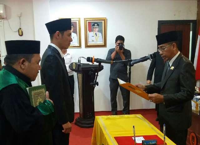 Imam Suroso SE Resmi Menjabat Sebagai Anggota DPRD Rohil