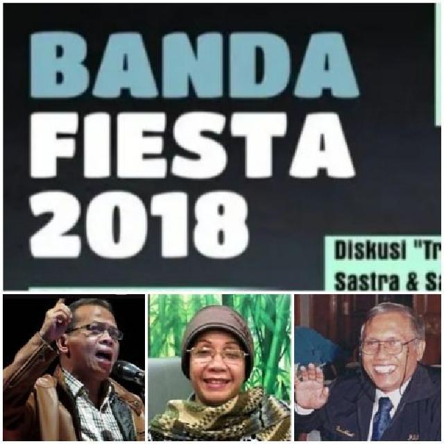 Dua Sastrawan Riau Hadiri  Acara Sastra 'Banda Fiesta 2018'