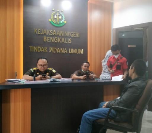 Kejari Bengkalis Terima Pelimpahan Kasus Narkoba 52 Kilogram Sabu dari BNN Pusat