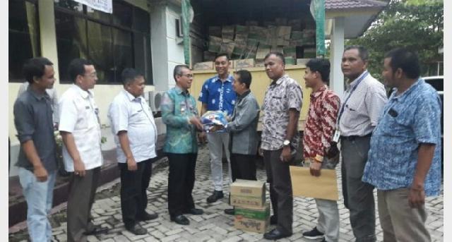 PT RAAP Serahkan Bantuan Korban Banjir Ke Pemkab Kuansing