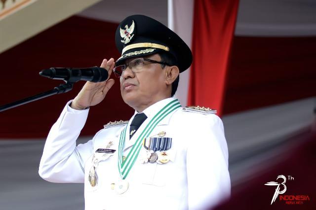 Kemerdekaan RI Ke - 73, Bupati Inhil Minta Generasi Bangsa Kenang Jasa Pahlawan